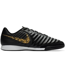 Nike LegendX 7 Academy IC Indoor Soccer Shoes (Black/Metallic Vivid Gold)