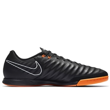 Nike Tiempo LegendX VII Academy IC Indoor Soccer Shoes (Black/Total Orange/White)