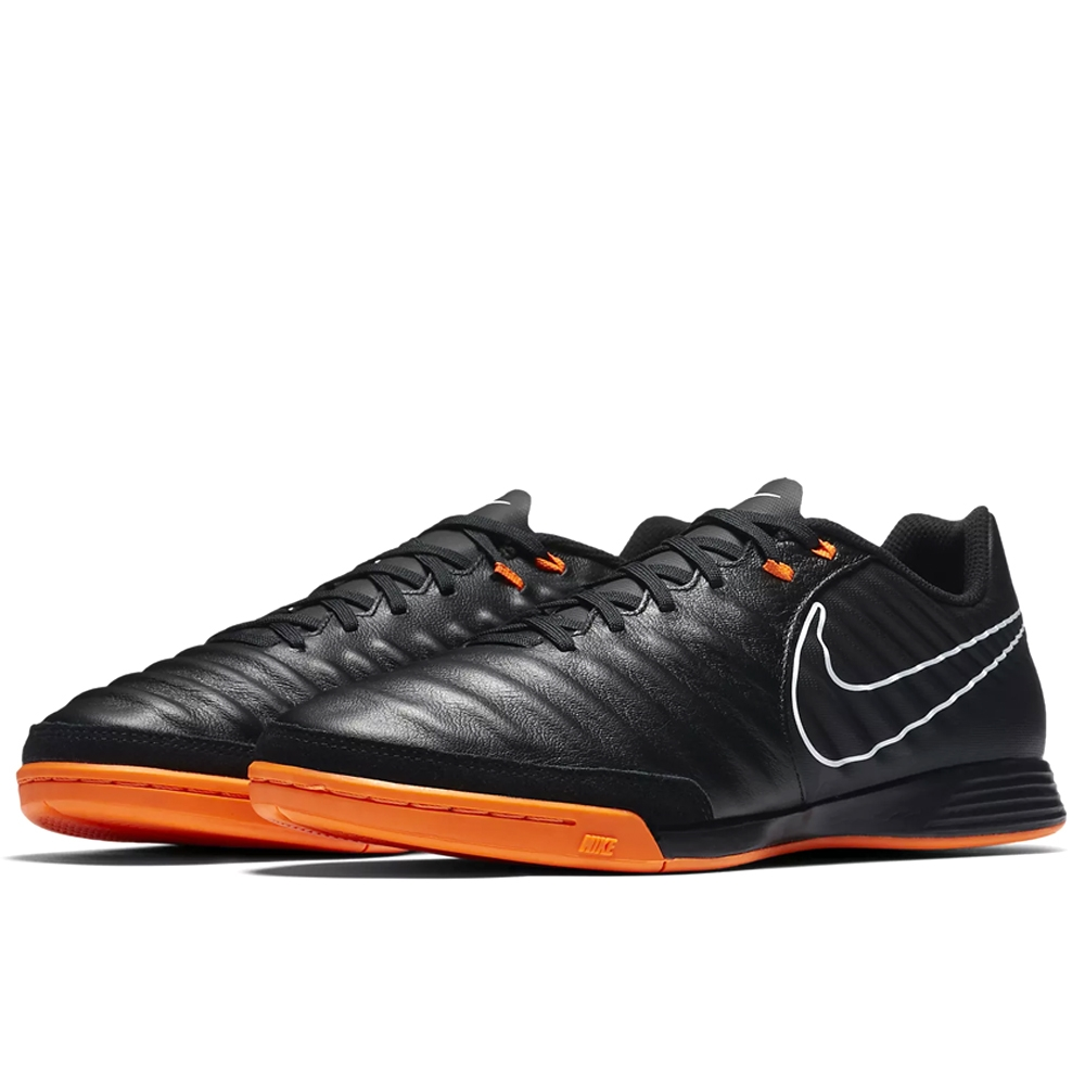 7189b8443 Nike Tiempo LegendX VII Academy IC Indoor Soccer Shoes (Black/Total ...