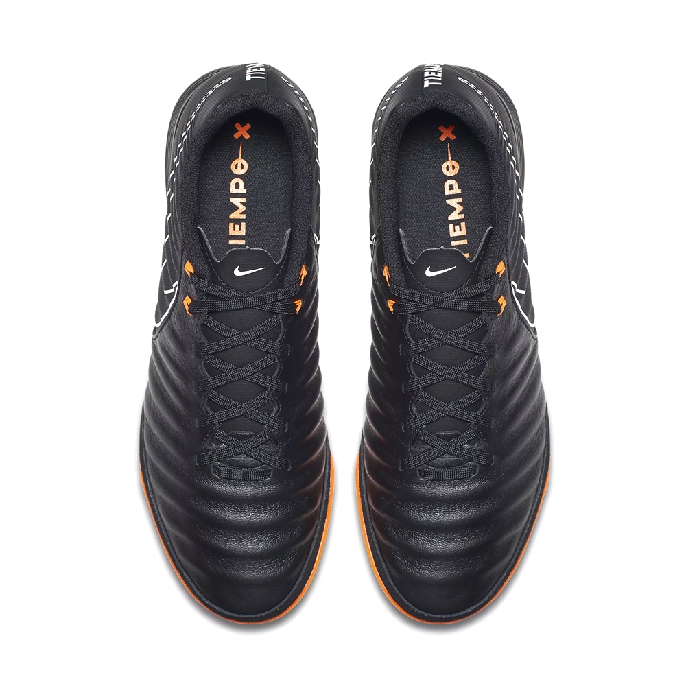 1af1195a6 Nike Tiempo LegendX VII Academy IC Indoor Soccer Shoes (Black Total ...