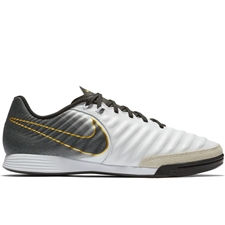 Nike LegendX 7 Academy IC Indoor Soccer Shoes (White/Black)