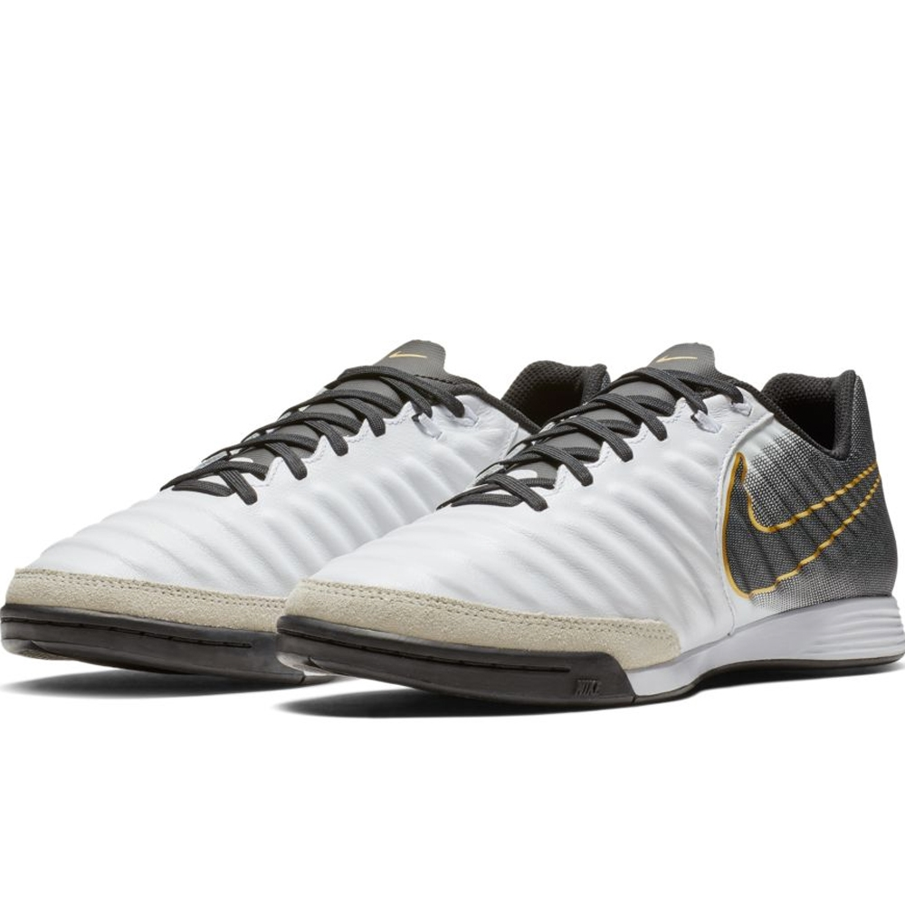 8e067888729 Nike LegendX 7 Academy IC Indoor Soccer Shoes (White Black)