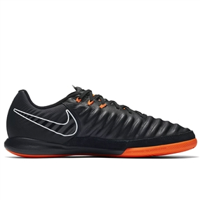 Nike Tiempo LegendX VII Pro IC Indoor Soccer Shoes (Black/Total Orange)