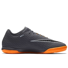 Nike Hypervenom PhantomX III Pro IC Indoor Soccer Shoes (Dark Grey/Total Orange/White)