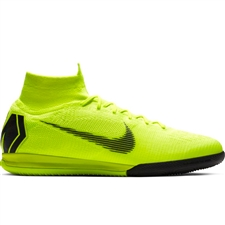 Nike SuperflyX 6 Elite IC Indoor Soccer Shoes (Volt/Black)
