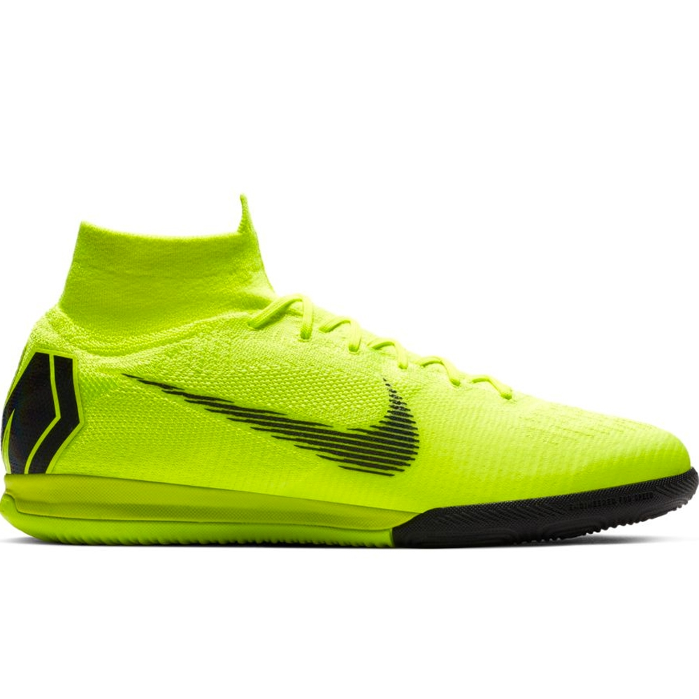 ea45293ec Nike SuperflyX 6 Elite IC Indoor Soccer Shoes (Volt Black)