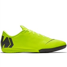 Nike VaporX 12 Academy IC Indoor Soccer Shoes (Volt/Black)