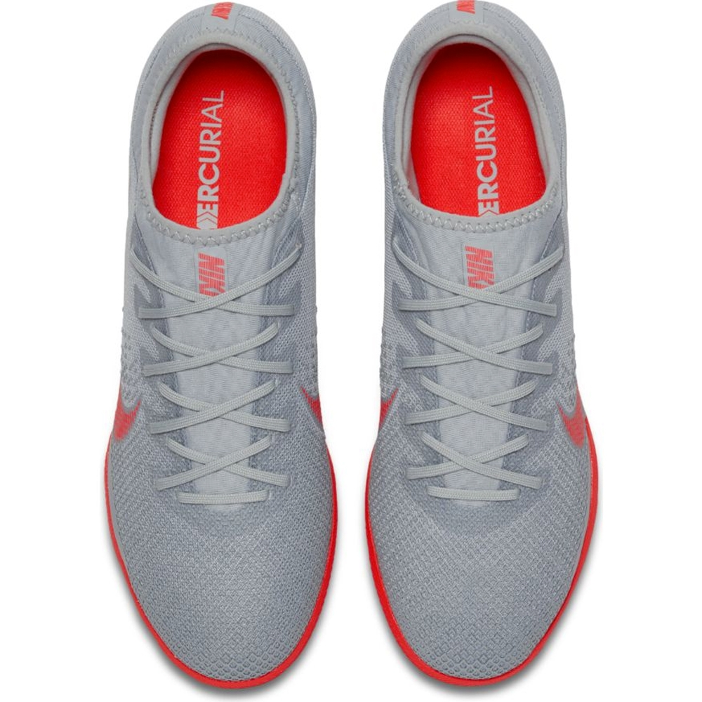 b4c014fba69 Nike VaporX XII Pro IC Indoor Soccer Shoes (Wolf Grey Light Crimson ...