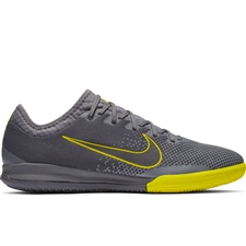 Nike VaporX 12 Pro IC Indoor Soccer Shoes (Dark Grey/Black/Opti-Yellow)