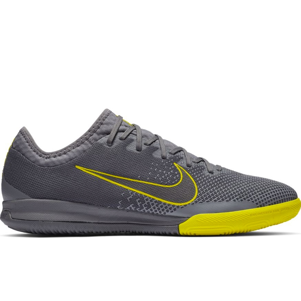 promo code 1a2f1 d989e Nike VaporX 12 Pro IC Indoor Soccer Shoes (Dark Grey/Black/Opti-Yellow)