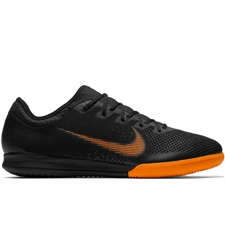 Nike Mercurial VaporX XII Pro IC Indoor Soccer Shoes (Black/Total Orange/White)