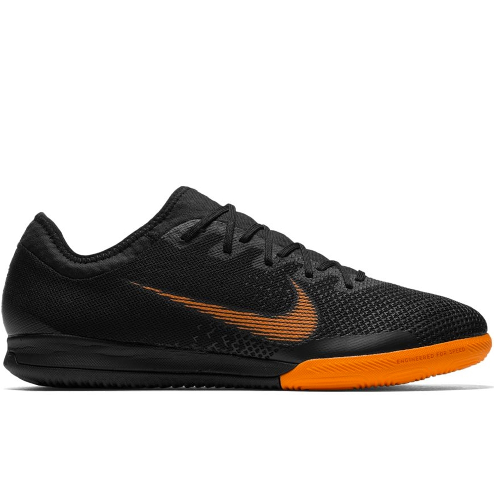 Nike Mercurial VaporX XII Pro IC Indoor Soccer Shoes (Black/Total  Orange/White