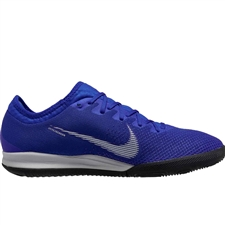 Nike VaporX 12 Pro IC Indoor Soccer Shoes (Racer Blue/Metallic Silver/Black)