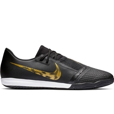 Nike Phantom Venom Academy IC Indoor Soccer Shoes (Black/Metallic Vivid Gold)