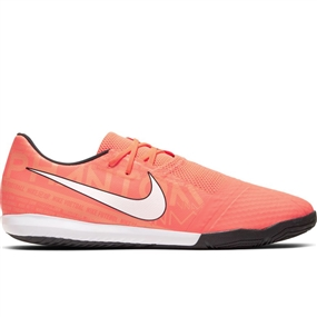 Nike Phantom Venom Academy IC Indoor Soccer Shoes (Bright Mango/White/Orange Pulse)