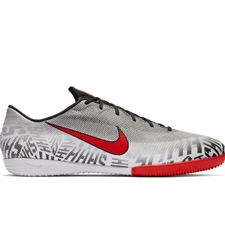 Nike Neymar Vapor 12 Academy IC Indoor Soccer Shoes (White/Challenge Red/Black)
