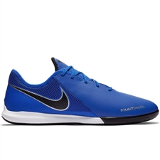 Nike Phantom Vision Academy IC Indoor Soccer Shoes (Racer Blue/Black/Metallic Silver/Volt)