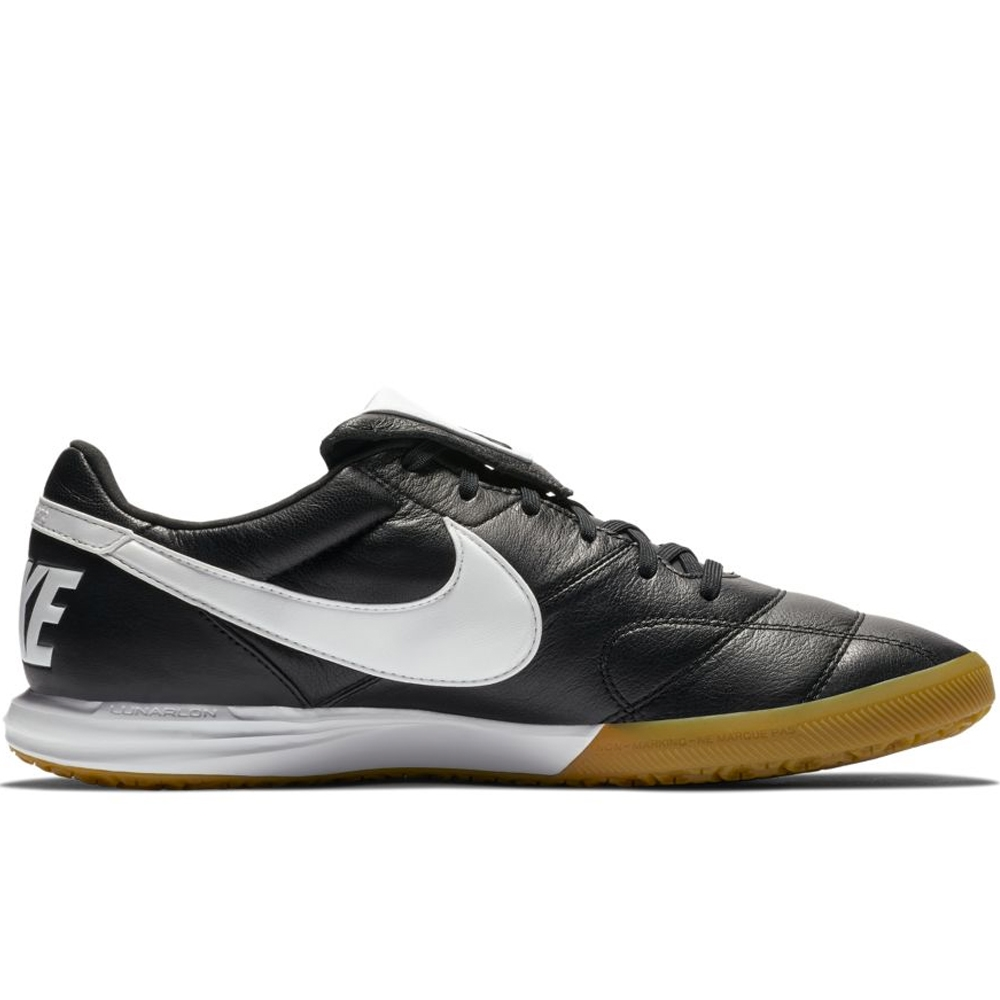 2d64beff1d0 Nike Premier II IC Indoor Soccer Shoes (Black White)