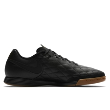 Nike TiempoX Ligera IV 10R IC Indoor Soccer Shoes (Black/Metallic Gold)