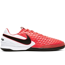 Nike Tiempo Legend 8 Academy IC Indoor Soccer Shoes (Laser Crimson/Black/White)