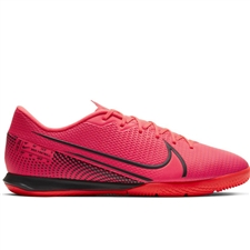 Nike Mercurial Vapor 13 Academy IC Indoor Soccer Shoes (Laser Crimson/Black)
