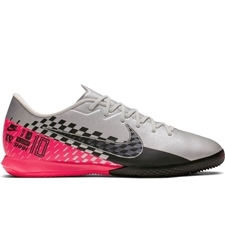 Nike Neymar Vapor 13 Academy IC Indoor Soccer Shoes (Chrome/Black/Red Orbit/Platinum Tint)
