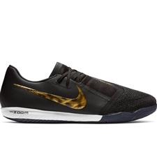 Nike Zoom Phantom Venom Pro IC Indoor Soccer Shoes (Black/Metallic Vivid Gold)