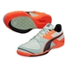 Puma Invicto Sala Indoor Soccer Shoes (Fair Aqua/Total Eclipse/Lava Blast)