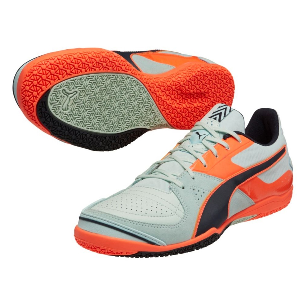 67.49 - Puma Invicto Sala Indoor Soccer Shoes (Fair Aqua Total  Eclipse Lava Blast)  3a92a27c6