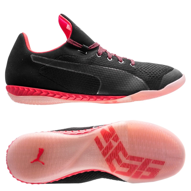 super popular 94685 e0063 Puma 365 evoKNIT Ignite CT Indoor Soccer Shoes (Black/White/Bright Plasma)