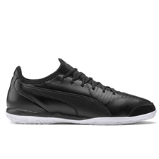 Puma King Pro IT Indoor Soccer Shoes (Puma Black/Puma White)