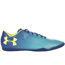 Under Armour Magnetico Select IN Indoor Soccer Shoes (Teal Punch/Moroccan Blue/Tokyo Lemon)