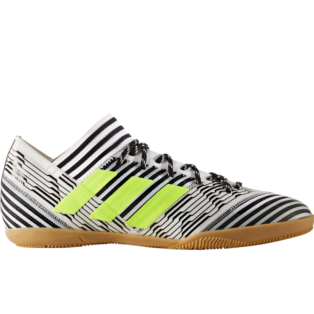 aaa2203264e Adidas Nemeziz Tango 17.3 Indoor Soccer Shoes (White Solar Yellow ...