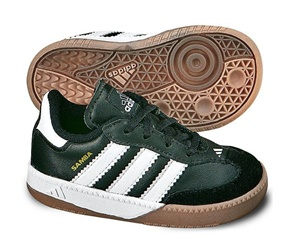 Adidas Samba Millenium Infant Indoor Soccer Shoe (Black/White)