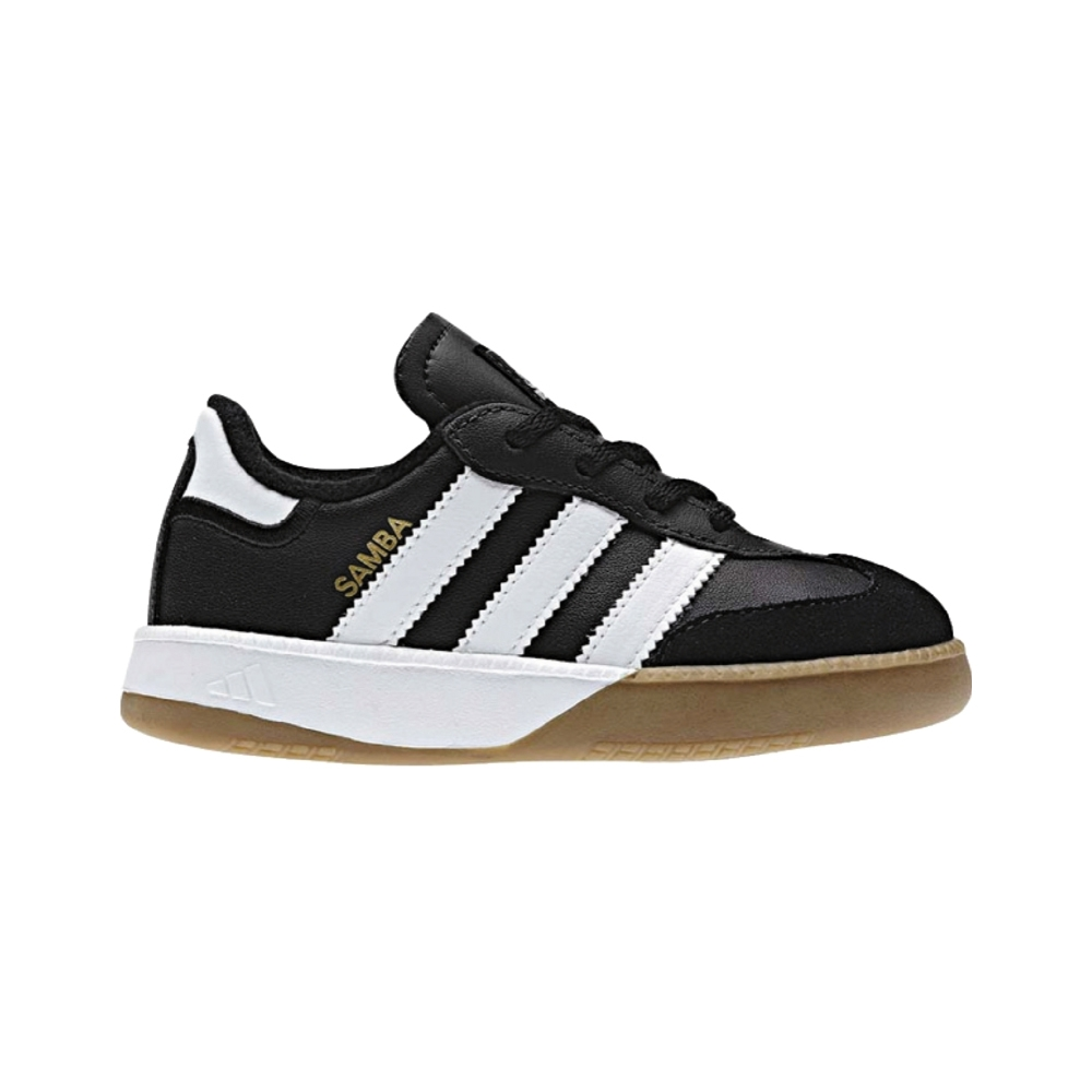 Adidas Samba Millenium Infant Soccer Shoe (Black/White ...