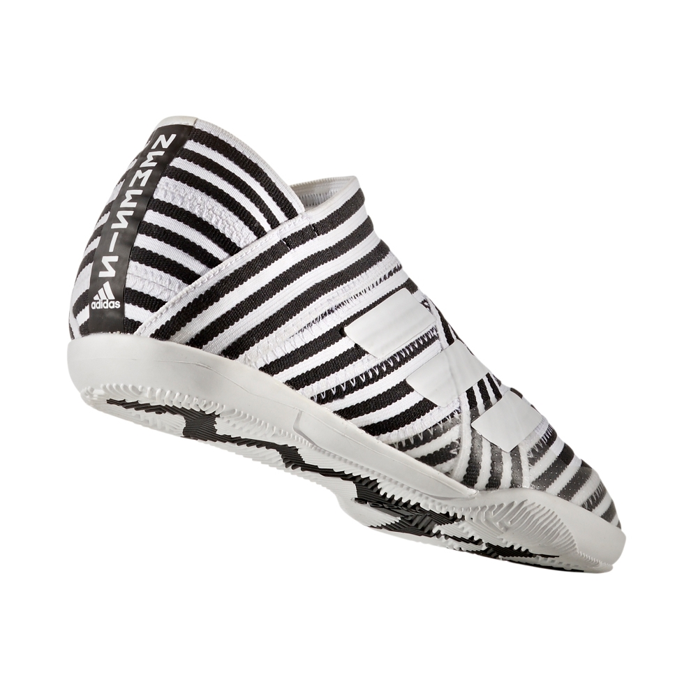 fa9af4004 Adidas Nemeziz Tango 17+ 360Agility Youth Indoor Soccer Shoes (White ...