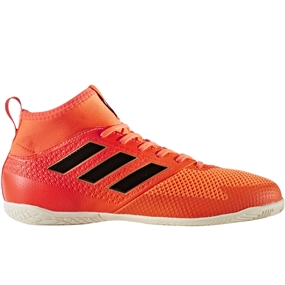 Adidas Ace Tango 17.3 Youth Indoor Soccer Shoes (Solar Red/Core Black/Solar Orange)