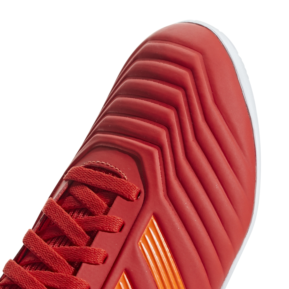 8141267d3224 Adidas Predator 19.3 Youth Indoor Soccer Shoes (Active Red/Solar Red/Core  Black)