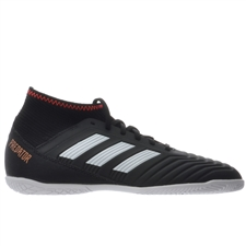 Adidas Predator Tango 18.3 Youth Indoor Soccer Shoes (Core Black/White/Solar Red)