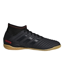 Adidas Predator 19.3 Youth Indoor Soccer Shoes (Core Black/Active Red)