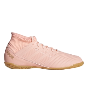 Adidas Predator Tango 18.3 Youth Indoor Soccer Shoes (Clear Orange/Trace Pink)