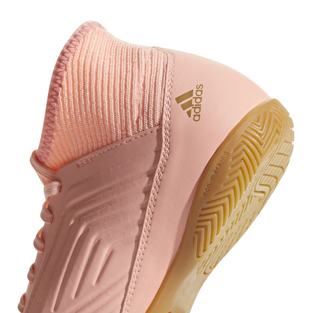 c252f02e40bc Adidas Predator Tango 18.3 Youth Indoor Soccer Shoes (Clear Orange Trace  Pink)