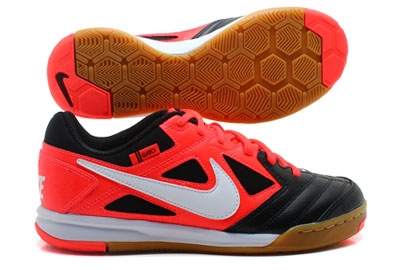 competitive price b1be7 f30ef ... coupon nike5 gato youth indoor soccer shoes black bright crimson white  d7d88 120f4