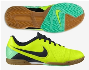 Nike CTR360 Libretto III Youth Indoor Soccer Shoes (Volt/Green Glow/Black)