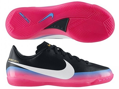 Nike Indoor Soccer Shoes | 538125-014 | Nike CR7 Youth Mercurial ...