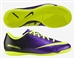 Nike Youth Mercurial Victory IV Indoor Soccer Shoes (Electro Purple/Volt/Black)