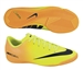 Nike Youth Mercurial Victory IV Indoor Soccer Shoes (Volt/Bright Citrus/Black)