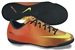 Nike Youth Mercurial Victory IV Indoor Soccer Shoes (Sunset/Total Crimson/Black/Volt)