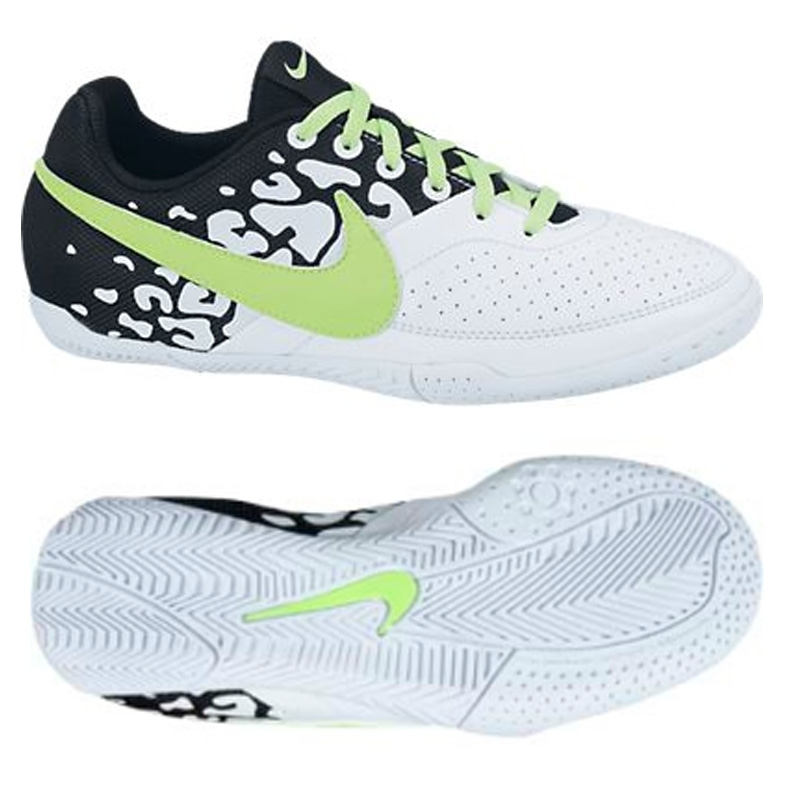 c5d0decce Nike FC247 Elastico II Youth Indoor Soccer Shoes (White Black Flash Lime)