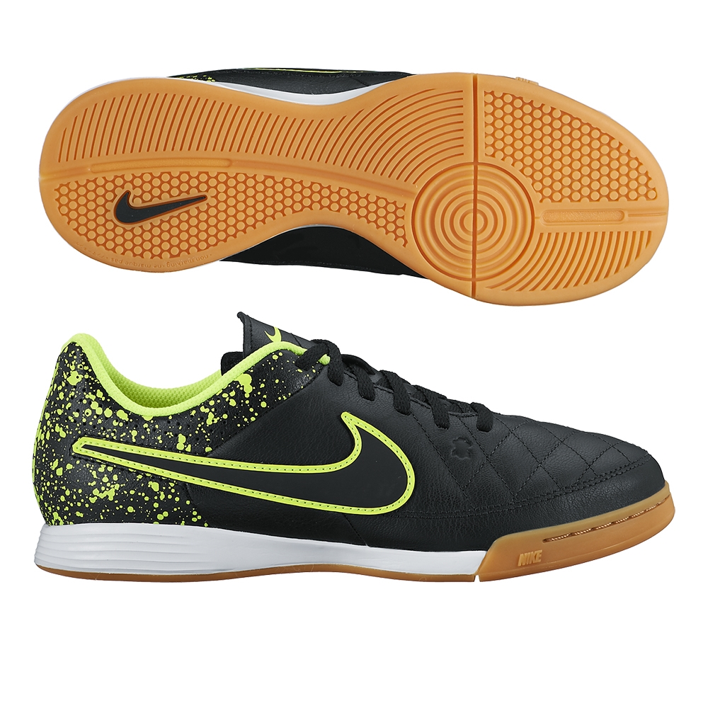 youth nike tiempo indoor shoes